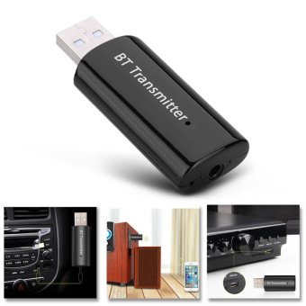 Wireless Bluetooth 4.0 Music Transmitter Stereo Audio Receiver Adapter USB Dongle - intl