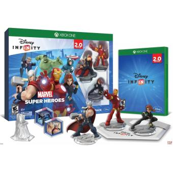 XBox One Disney INFINITY: Marvel Super Heroes 2.0 Edition Starter Pack