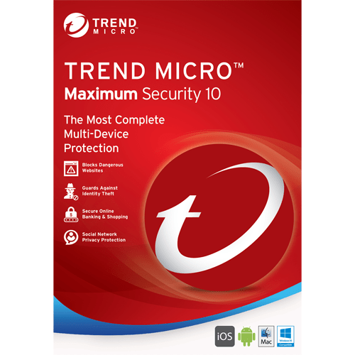 [SG] Genuine Trend Micro 2020 Maximum Security Trend Micro Internet Security Key Digital Download (3 year 3 devices)