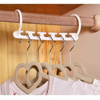 1 Pc Space Saver Wonder Magic Hanger Hook Closet Organizer Hanger Space Saver - intl