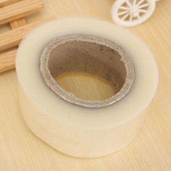 200M Cake Transparent Soft Surrounding Edge Wrapping Tape Plastic Side Membrane - intl