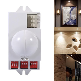 360? 500W Microwave Smart Motion Sensor Radar light Switch Ceiling Recessed - intl