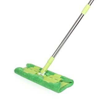 360 Degree Rotating Plate Pushing Dust Mop Mop / Towel Clip - intl