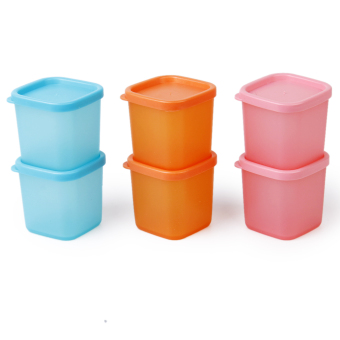 6Pcs Reusable Outdoor Picnic BBQ Camping Seasoning Spice Container Condiment Box
