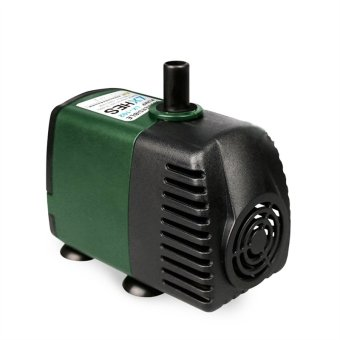 AC 220V 600L/H 5W Aquarium Fish Tank Pond Submersible Water Pump with EU Plug (Black+Green)(Export)(Intl)