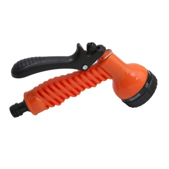 Ai Home Expandable Flexible Garden Water Hose Replacement Spray Nozzle Accessories (Orange) - intl