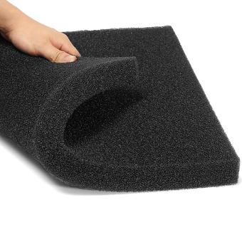 Autoleader 50x50x2.5cm Aquarium Foam Biochemical Filter Filtration Fish Tank Sponge Pad BLK