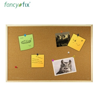 Background photo wall stickers promotional Cork board soft wood board