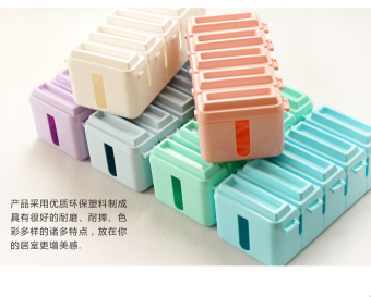 Chocolate socket storage box set line box management line device wire finishing box wire storage boxes