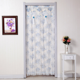 Fabric door curtain mosquito summer curtains