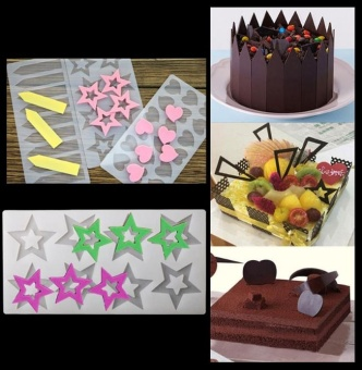DIY Silicone Chocolate Candy Cake Decorating Tool Sugarcraft Baking Mould - intl
