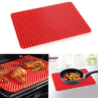 Durable Pyramid Non Stick Silicone Cooking Mat Oven Baking Kitchen Tool - intl