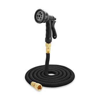 Garden Expandable Magic Flexible Water Hose Spray Nozzle 25 ft - intl