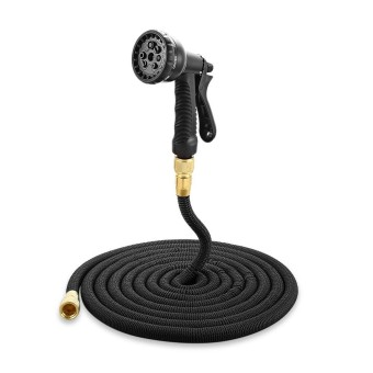 Garden Expandable Magic Flexible Water Hose Spray Nozzle 50 ft - intl