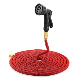 Garden Expandable Magic Flexible Water Hose Spray Nozzle 75 ft - intl