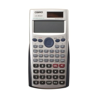 Gift Multi-functional LCD 2 Line Display Scientific Calculator Solar Powered - intl