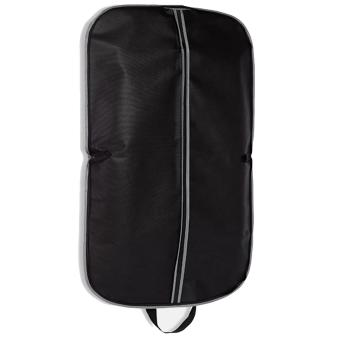 Home Travel Portable Garment Bags Clothes Dust-proof Cover Suits Storage Bags for Coat Dress Jacket Clothing Storage Black - intl
