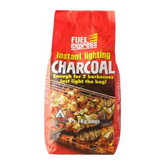Harga Fuel Express Instant Lighting Charcoal 2 X 1Kg Bags