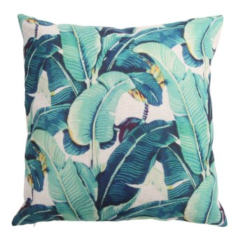 Harga Creative Bamboo Pattern Cotton Pillow Cover Cushion Cover