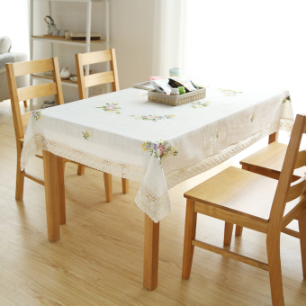 Harga Wishing tree Linen embroidery embroidered tablecloth traditional craft table cloth round table square tablecloth cover cloth cover towel