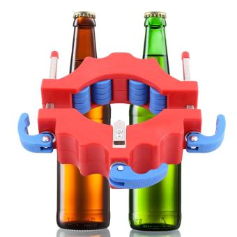 Harga Wine Bottles Cutter Professional Beer Glass Cutting Tool For Art Craft Making (Red) - intl