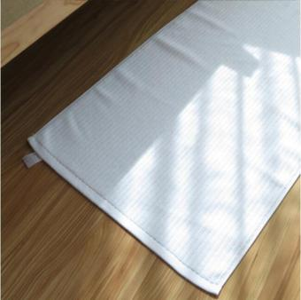 Harga 75*45cm Pure White Cotton Floor Mat Bathroom Towel Footcloth Hotel Spa Beauty Foot Dryer Towels