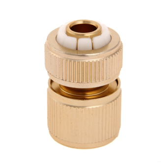 "Harga Grandmise 1/2 "" Brass Auto Water Guide Quick Fit Female Hose Pipe Connector Hoselock Clips"