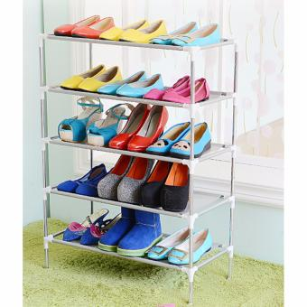 Harga Washable Plastic Shoe rack - Tania (4 Tier)
