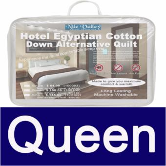 Nile Valley's 5 Star Hotel Egyptian Cotton Down Alternative Quilts For Good Night Sleep.