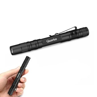 Portable Waterproof One Mode Tactical LED Flashlight Pen Light CREE XP-E2 LED 500LM Pocket Torch - Black - intl