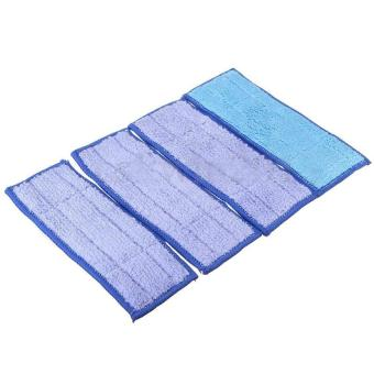 Harga AC Blue 4Pcs Washable Wet Mopping Pads Replacment Damp & Dry for iRobot Braava Jet 240 - intl