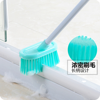 Harga Long Handle bathroom cleaning brush hard hair Floor Brush bathroom brush bath tile the brush Floor Brush