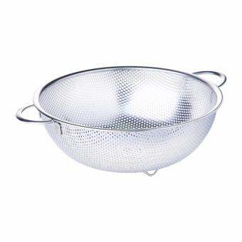 Harga SUNNEX Stainless Steel Mesh Basket With Wire Handle