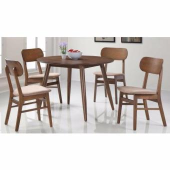 Harga Nova 403-401 Dining Set (FREE Delivery) (FREE Assembly)