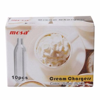 Harga Mosa 8g N2o Cream Chargers Pack of 10