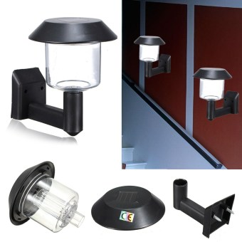 Harga Solar Powered Wall Mount LED Lights