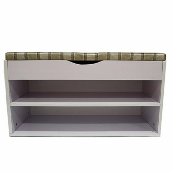 Harga Bench with Shoe Storage - Light lavender (Close to white)(Multicolor)