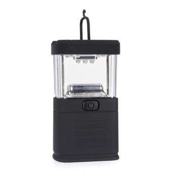 Harga 11 LED Portable Camping Night Light Camp Bivouac Tent Fishing Lantern Lamp Black (EXPORT)