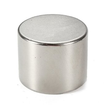 Harga 1Pc N50 Strong Disc Round Cylinder Fridge Magnet 25x20mm Rare Earth Neodymium (Intl)