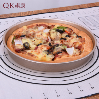 Harga Subdural 9 round baking mold baking mold pizza pan pizza tools deep nonstick pan