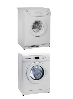 Harga Elba 7kg Washer EWF1073A with 6kg Tumble Dryer EBD602S