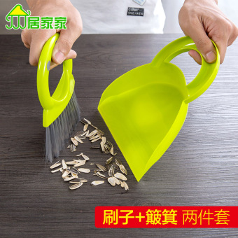 Harga Home home mini desktop sweep cleaning brush dustpan combination suit table small dust broom small broom