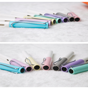 Harga 0.5mm Tip Fountain Pen EF/F + 6 ink(Light Purple )