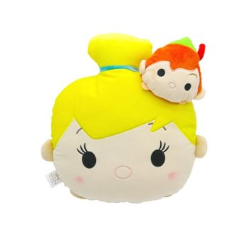 Harga Disney Tsum Tsum Kawaii Cushion Tinkker Bell & Peter Pan