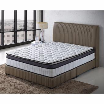 Harga Nova S12 5 ft Bed Frame with 5 ft Spring Mattress (Queen)