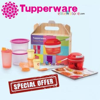 Harga Tupperware Turbo Pack GIFT SET with Recipe Book food container