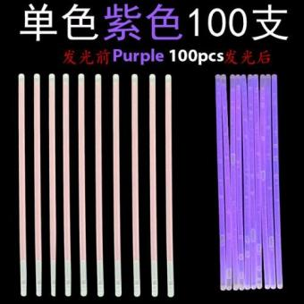 Glow Light Stick - Purple 100pcs