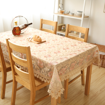 Harga Wishing tree European lace fabric lace table tablecloth TV cabinet piano cover towel coffee table step side cabinet cover cloth
