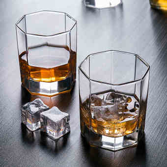 Harga Luminarc household glass cup 6 only installed wine cup beer cup spirits cup whiskey glass set