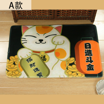 Harga Cute lucky cat super absorbent slip entrance mats doormat mat mats in front of the door into the living room bedroom